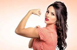 14 تمرین جلو بازو برای خانمها