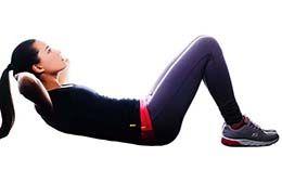آب کردن چربی زیر شکم با ورزش برای خانمها ؛ لاغری بانوان