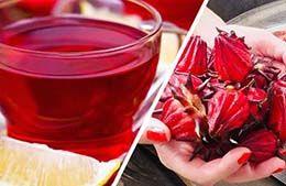 فواید و عوارض چای قرمز ( ترش ) + طرز تهیه به روش سرد و گرم