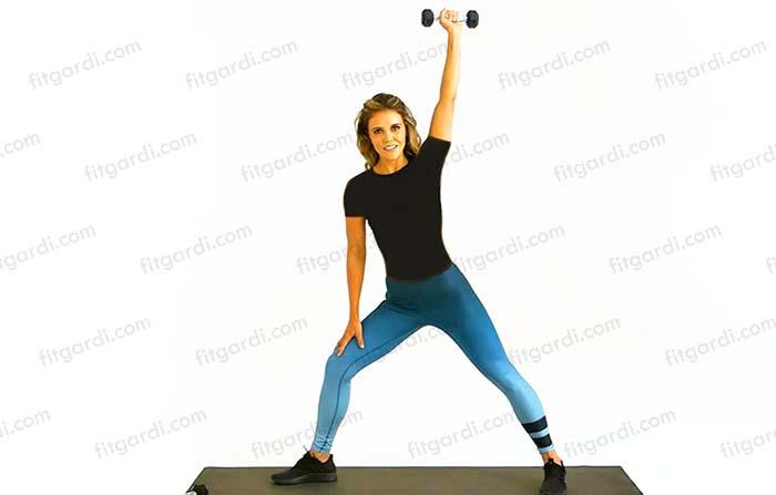بالا بردن شانه ها با ورزش برای بانوان